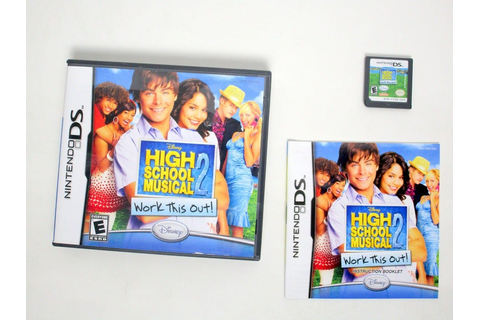 High School Musical 2 Work This Out game for Nintendo DS ...