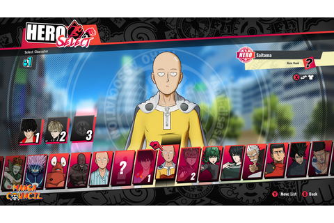 One Punch Man a Hero Nobody Knows Save Game | Manga Council