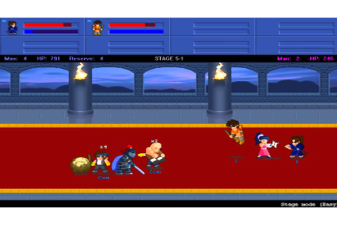 [PC] - Little Fighter 2 (2 Players) - YouTube
