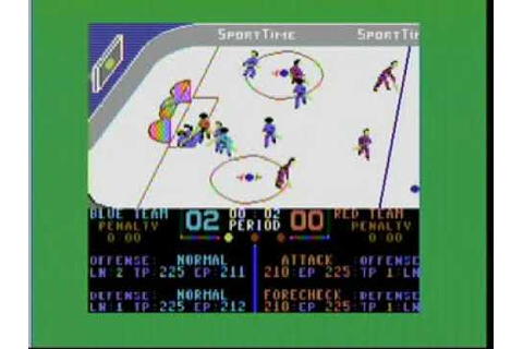 "1987 ""Superstar Ice Hockey"" by Mindscape Commodore 64 Game ..."