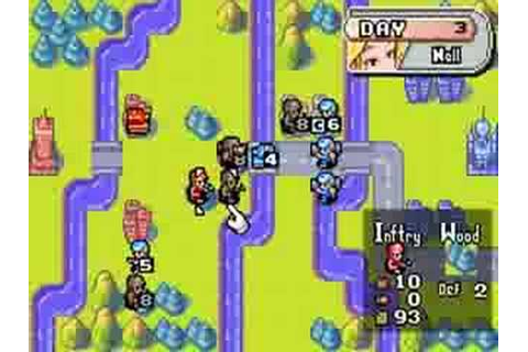 Advance wars gameplay gba - YouTube