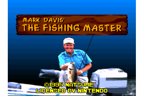 Mark Davis' The Fishing Master Download Game | GameFabrique