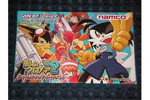 NEW GBA Kaze no Klonoa 2 Dream Champ Tournament Game Boy ...