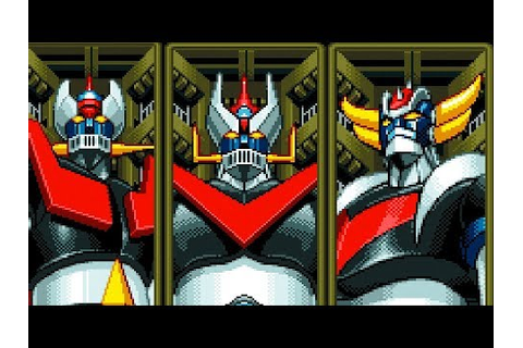 Mazinger Z (Arcade) All Bosses (No Damage) - YouTube