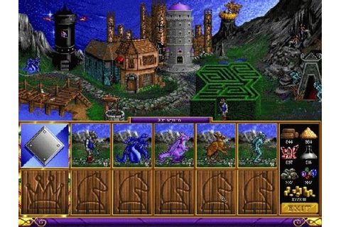 Heroes of Might and Magic 1-4 (PC) - New World Computing ...