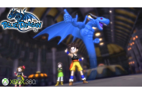 Blue Dragon - Xbox 360 Gameplay (2007) - YouTube