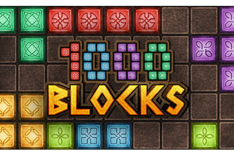 1000 Blocks - Puzzle Games - Games XL .com