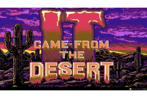 It Came from the Desert gameplay (PC Game, 1989) - YouTube