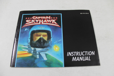 Manual - Captain Skyhawk - Nes Nintendo