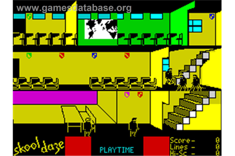 Skool Daze - Sinclair ZX Spectrum - Games Database
