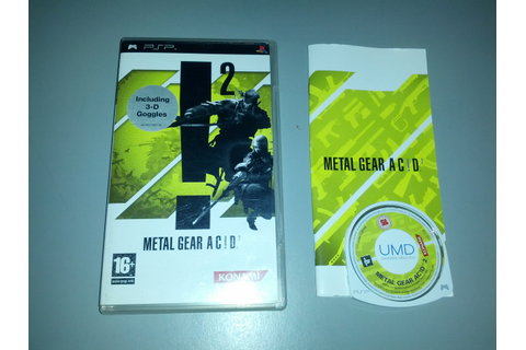 Metal Gear Acid 2 (Sony Playstation Portable) | GreenHillsZone