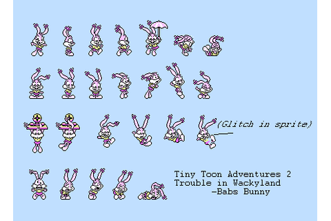 NES - Tiny Toons Adventures 2: Trouble in Wackyland - Babs ...