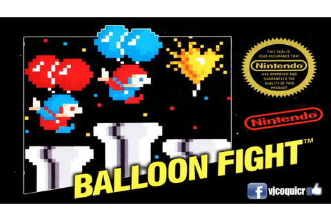 Balloon Fight Nintendo NES - YouTube