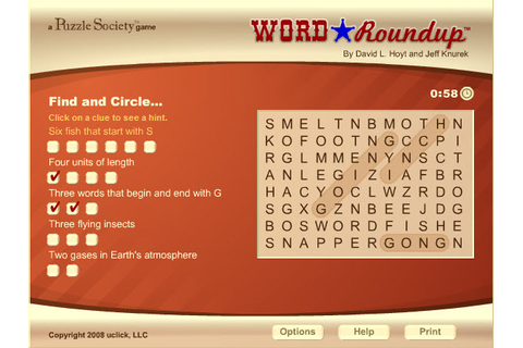 Game of the Day: Word Roundup - AOL Games