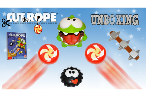 Cut the Rope Game from Mattel. - YouTube