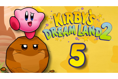 Kirby's Dream Land 2 -Part 5- [Red Canyon] - YouTube