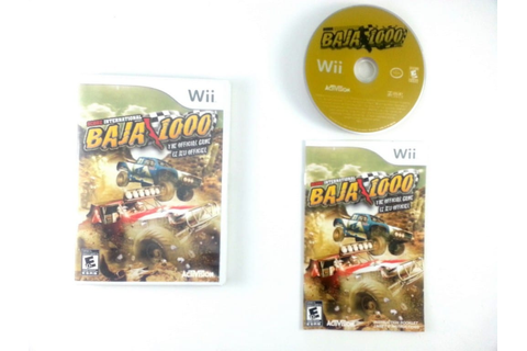 SCORE International Baja 1000 game for Wii (Complete ...