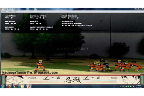 Diky Creative: naruto Shinobi Breakdown game ringan