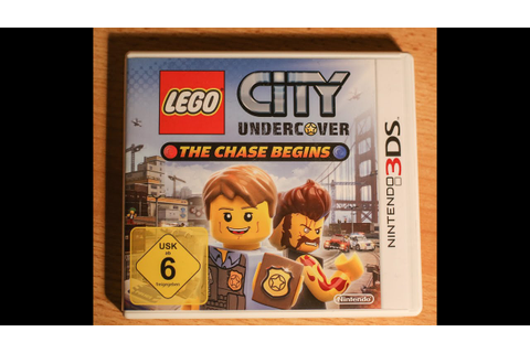 Test Lego City Undercover: The Chase Begins (Nintendo 3DS ...
