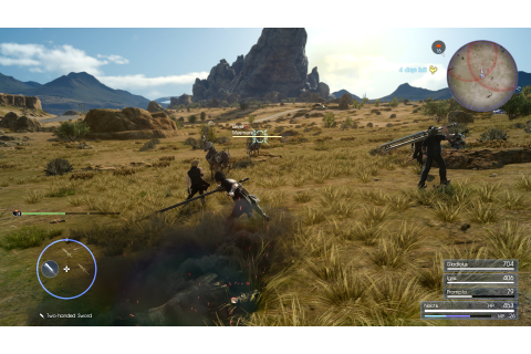 Final Fantasy XV Gets First Two Xbox One X 4K Screenshots