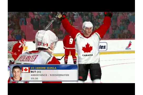 NHL 2002 World Tournament / Switzerland vs Canada - YouTube