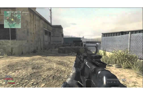 MW3 Gun Game epic win Xbox 360 gameplay - YouTube