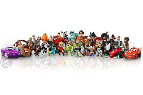 Idle Hands: Prepare for DISNEY INFINITY!!