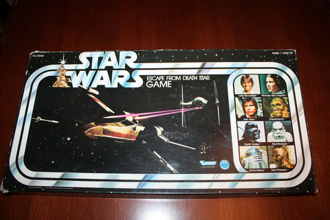 1977 Star Wars Escape from Death Star Game | eBay