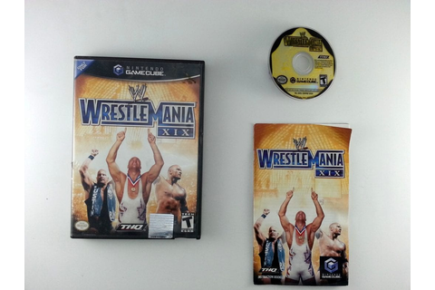 WWE Wrestlemania XIX game for Gamecube (Complete) | The ...