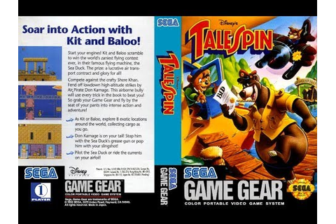 GAME GEAR - TaleSpin - Disney [720p HD] - YouTube
