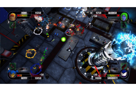 Rocketmen: Axis of Evil Screenshots - Video Game News ...