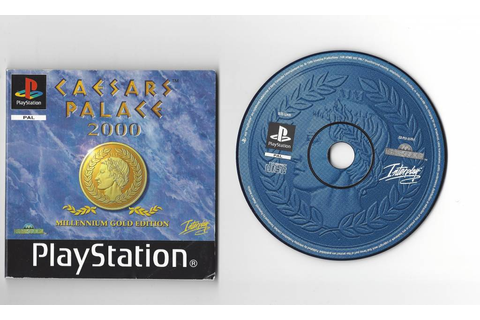Caesars Palace 2000 - Playstation 1 PS1 PSX PAL - Passion ...