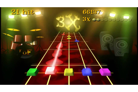 Frets on Fire - Gameplay (PC) - YouTube