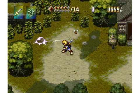 The Adventures of Alundra (PS1) review | Very Very Gaming