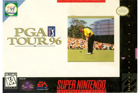PGA Tour 96 (Nintendo SNES, 1995) – Red Ant Retro