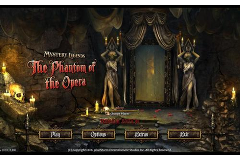 The Phantom Of The Opera images Mystery Legends: The ...