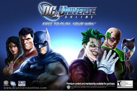 DC Universe Online Characters: Heroes and Villains ...
