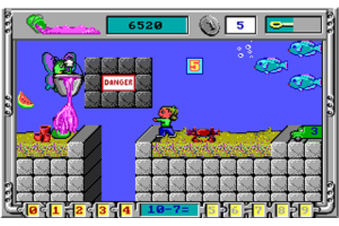 Serious Game Classification : Math Rescue (1992)