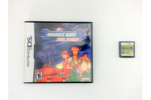 Advance Wars Dual Strike game for Nintendo DS -Game & Case ...