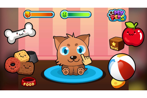 My Virtual Pet - Cute Kids Game for iPhone and Android ...