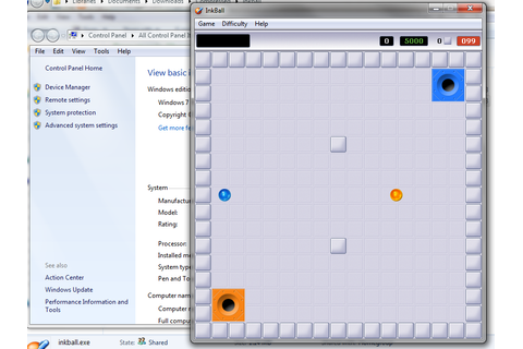 NiK's technical blog: Inkball in Windows 7