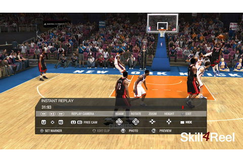 NBA Live 13 and the future of basketball video games - YouTube