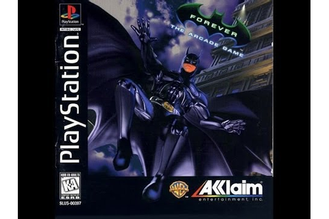 Batman Forever: The Arcade Game (PlayStation) - YouTube
