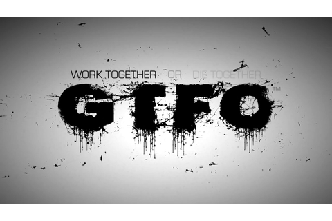 GTFO - Trailer PC game - YouTube