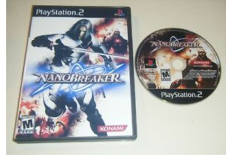 NanoBreaker GAME & CASE for your Playstation 2 PS2 system ...