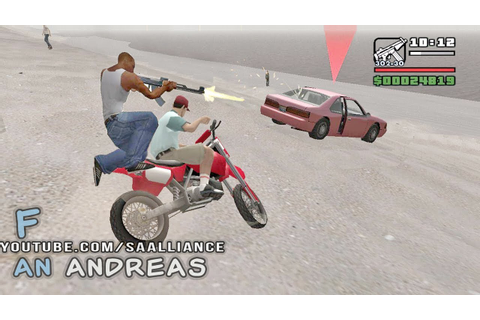 GTA SAN ANDREAS — SCOOTER SHOOTER - YouTube
