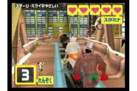 Muscle March Japanese WiiWare game INSANE but GREAT - YouTube