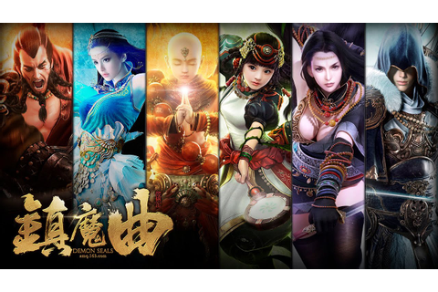 Demon Seals《镇魔曲》- Character Creation - Download & Play ...
