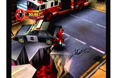 Power Rangers Lightspeed Rescue PS1 Game - Level 4 - Go ...