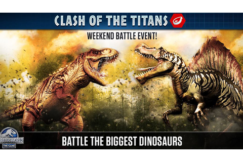 Jurassic World The Game - Clash of the Titans - YouTube